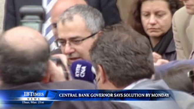 Central Bank Governor Says Solution By Monday