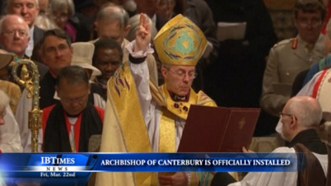 Archbishop Of Canterbury Is Officially Installed