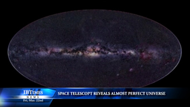 Space Telescope Reveals Almost Perfect Universe