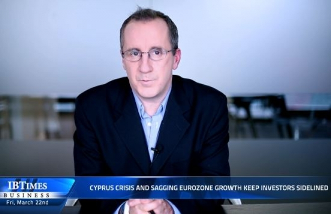 Cyprus crisis and sagging Eurozone growth keep investors sidelined