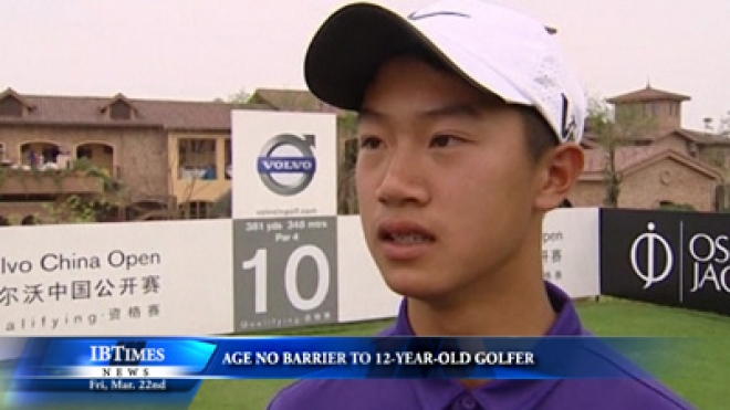 Age No Barrier To 12-Year-Old Golfer Ye Wocheng