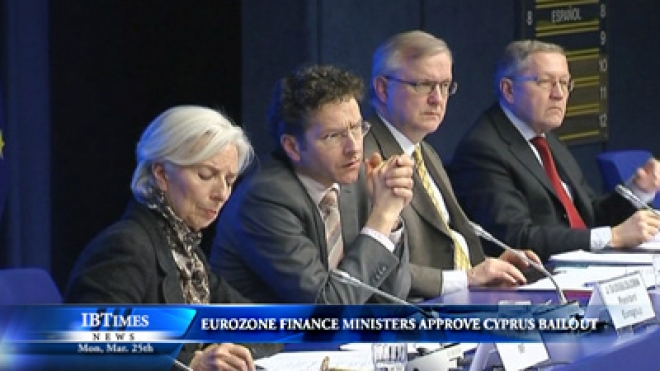 Euro Zone Finance Ministers Approve Cyprus Rescue Plan