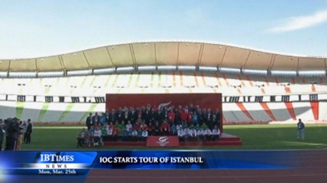 IOC Starts Tour Of Istanbul