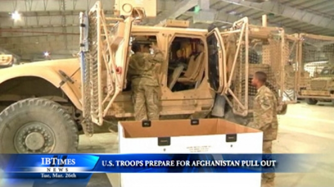 U.S. Troops Prepare For Afghanistan Pull Out