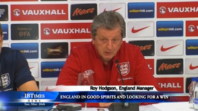 England In Good Spirits And Looking For A Win Says Hodgson