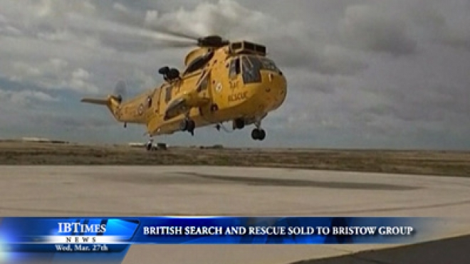British Search And Rescue Service Sold to Bristow Group
