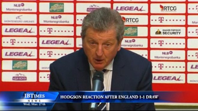 Hodgson Reaction After England And Montenegro Draw 1-All