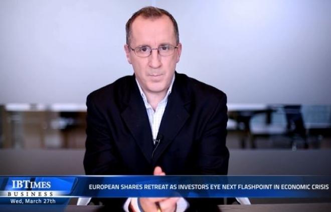 European shares retreat as investors eye next flashpoint in economic crisis