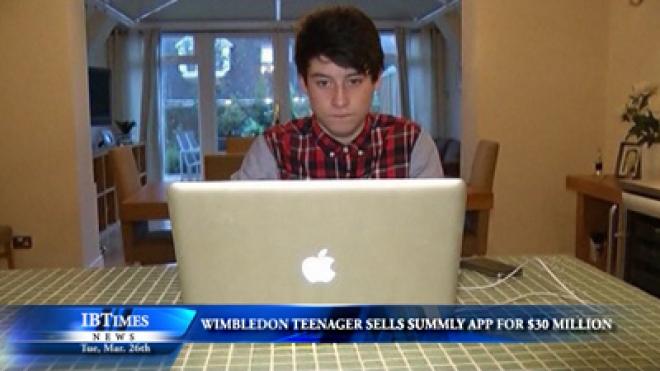 Wimbledon Teenager Sells Summly for $30 million