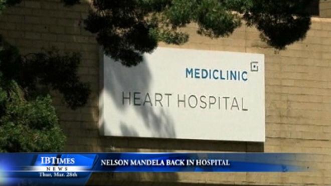 Nelson Mandela Back In Hospital