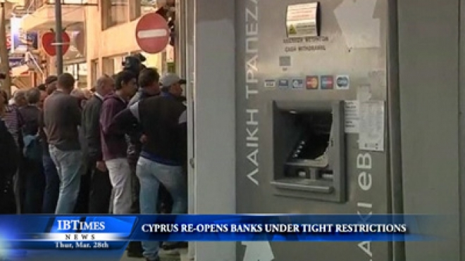 Cyprus Banks Re-Open With Tight Restrictions