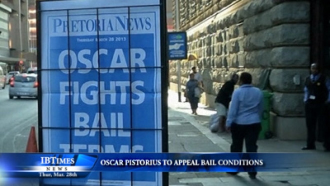 Oscar Pistorius To Appeal Bail Conditions