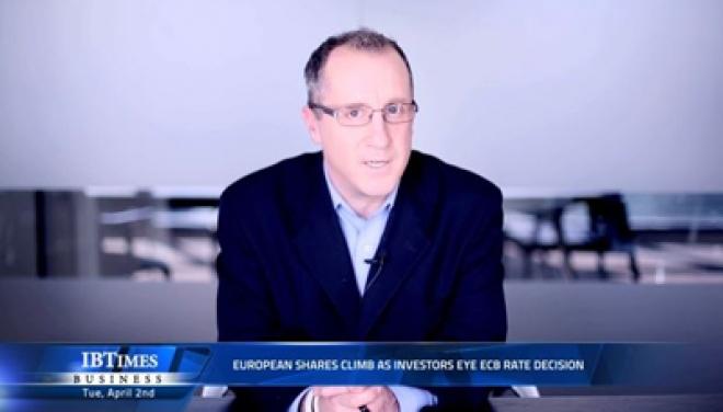 European shares climb as investors eye ECB rate decision