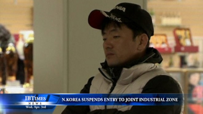 South Korean Workers Worry As North Korea Suspends Entry To Industrial Zone