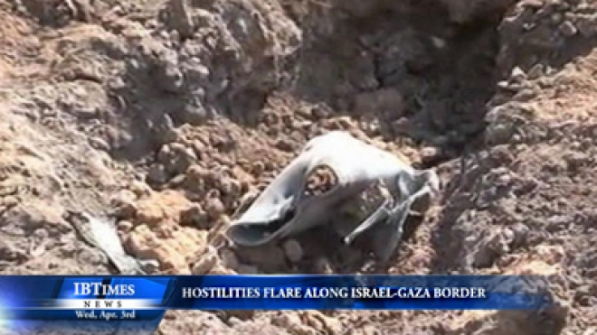 Hostilities Flare Along Israel-Gaza Border