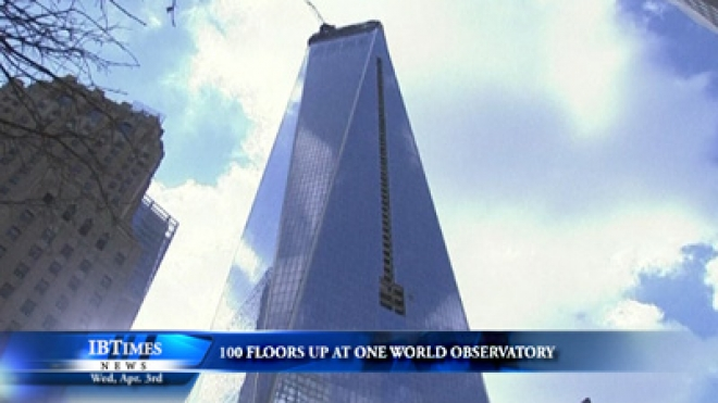 100 Floors Above The Ground, A Preview Of One World Observatory
