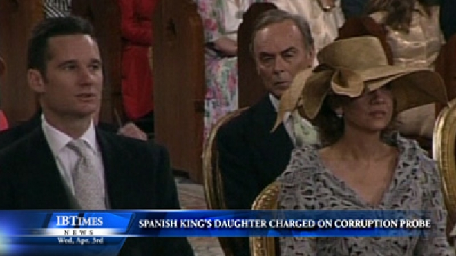 Princess Cristina of Spain Charged In Corruption Probe
