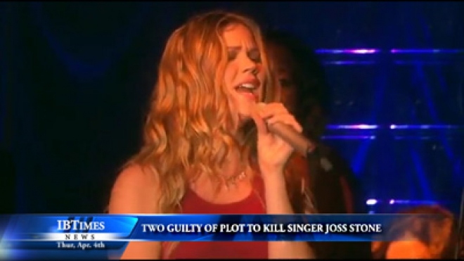 Two Guilty Of Plot To Kill British Singer Joss Stone