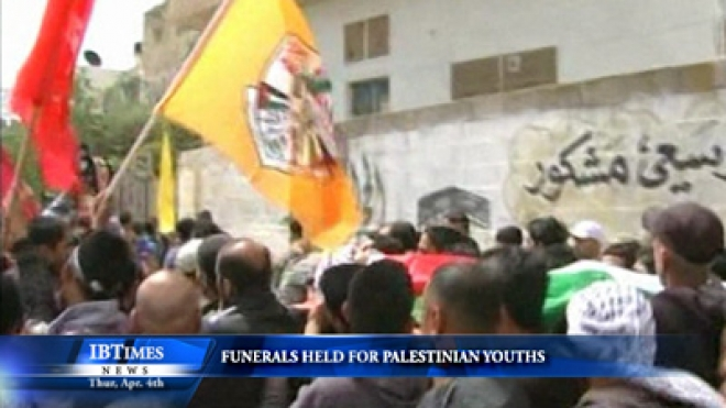 Funerals Held For Palestinian Youths