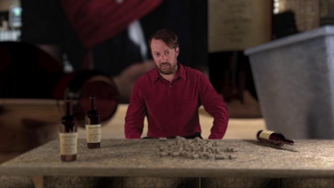 David Mitchell - Wine Tasting