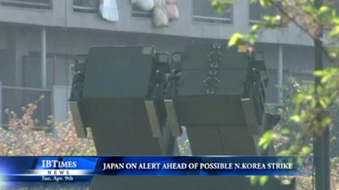 Japan On Alert Ahead Of Possible North Korean Missile Launch