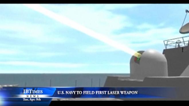 U.S. Navy To Field First Laser Weapon
