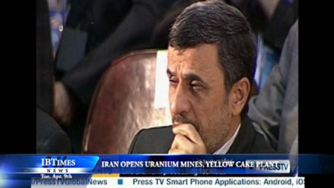 Iran Opens New Uranium Mines, Yellow Cake Plant