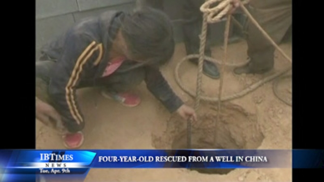 Four-Year-Old Rescued From Well In Northwest China