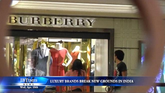 Luxury Brands Break New Grounds In India