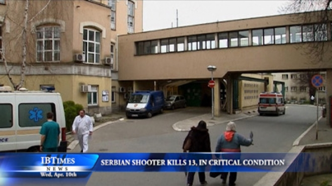 Serbian Shooter Kills 13, in Critical Condition