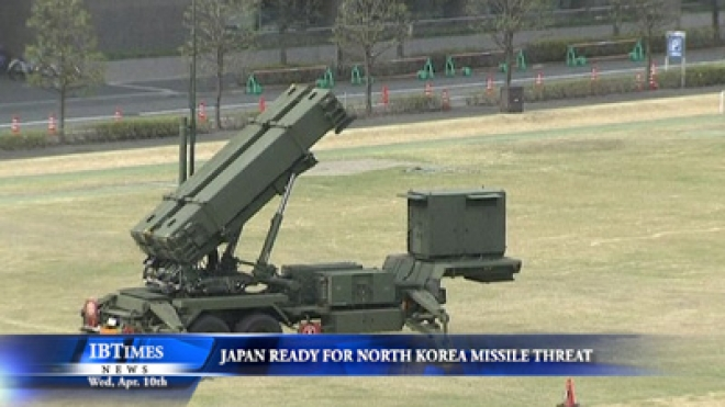 Japan Ready For North Korea Missile Threat