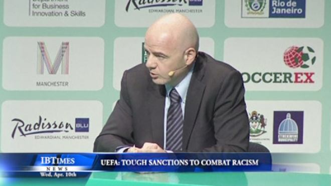 UEFA announce tough new sanctions to combat racism