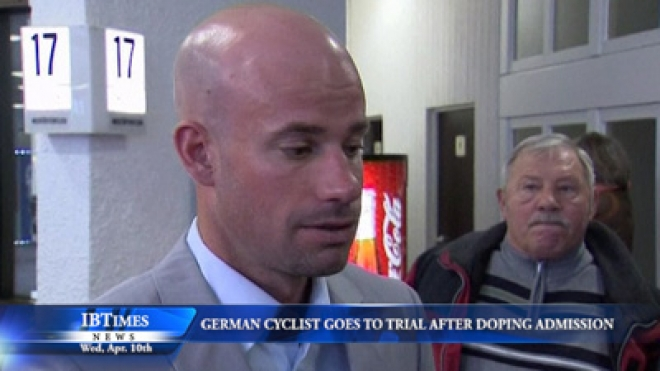 German Cyclist Goes On Trial Following Doping Admission