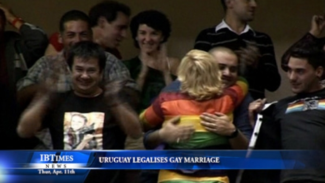 Uruguay Approves Gay Marriage, Second In Region To Do So