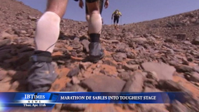Marathon De Sables Into Toughest Stage