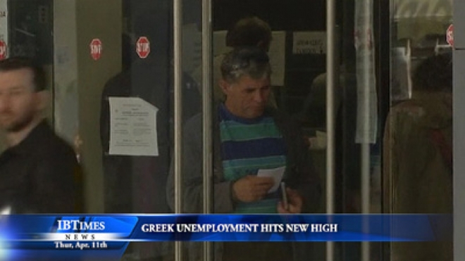 Greek Unemployment Hits New High