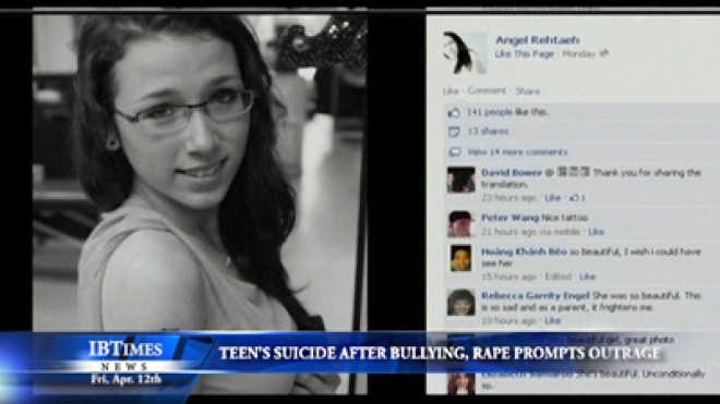 Teen Suicide After Bullying, Rape Prompts Public Outrage