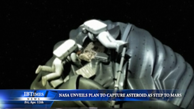 NASA Unveils Plan To Catch Asteroid As Step To Mars Flight