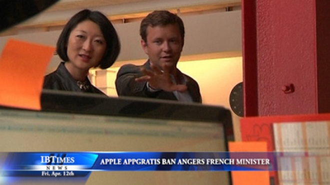 Apple Ban Angers French Minister