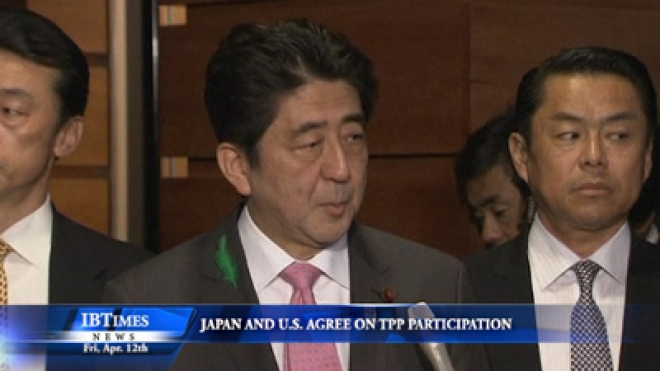 Japan and US Agree on TPP Participation