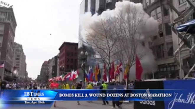 Bombs Kill 3 People, Wound Dozens At Boston Marathon