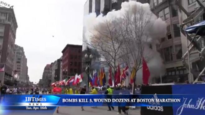 Bombs Kill 3 People, Wound Dozens At Boston Marathon