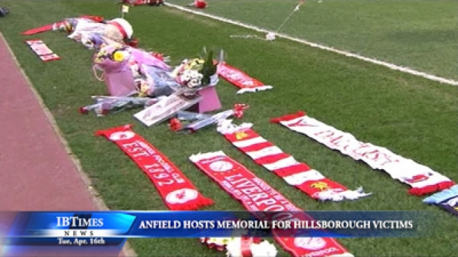 Anfield Hosts A Memorial Service For Hillsborough Victims