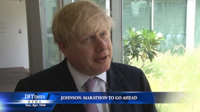 Johnson: Thatcher Funeral And London Marathon To Go Ahead As Planned