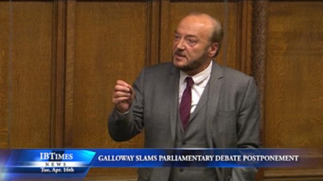 George Galloway Blasts Parliamentary Postponement For Thatcher Funeral