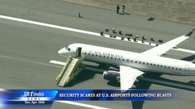 Security Scares At U.S. Airports Following Boston Blasts