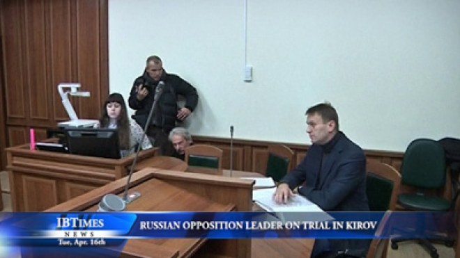 Russian Opposition Leader Alexei Navalny Goes On Trial