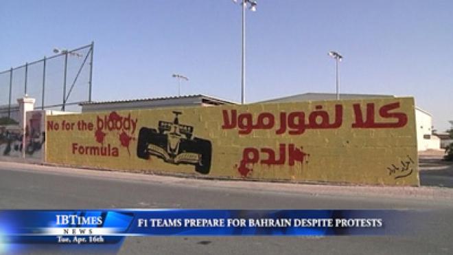 Formula One Teams Prepare For Bahrain Grand Prix Despite Protests