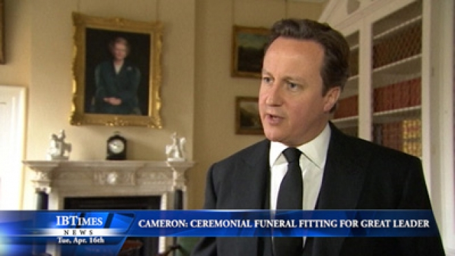 Cameron: Cerermonial Funeral A Fitting Tribute To Great Leader