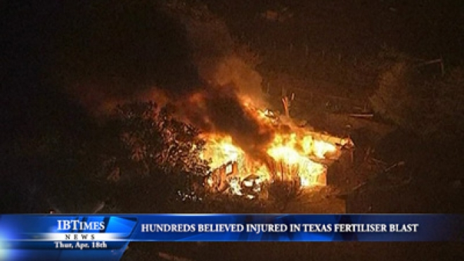 Hundreds Believed Injured In Texas Fertiliser Plant Blast